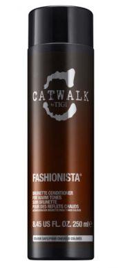 Tigi Catwalk Fashionista Brunette Conditioner 250ml - Kondicionér na hnedé vlasy