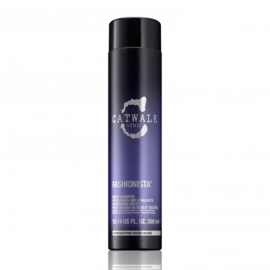 Tigi Catwalk Fashionista Violet Shampoo 300ml - Šampón na blonďaté a melírované vlasy