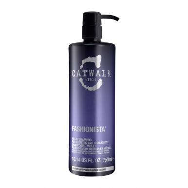 Tigi Catwalk Fashionista Violet Shampoo 750ml - Šampón na blonďaté a melírované vlasy
