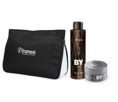 Vianočný balíček Framesi - Energy Black Shampoo 200ml + Urban Gloss Wax 80ml