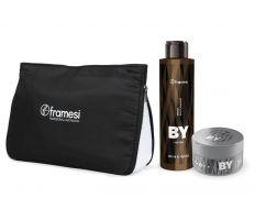 Vánoční balíček Framesi BY - Energy Black Shampoo 200ml + Working Clay 75ml