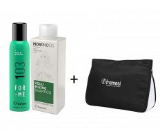 Vianočný balíček Framesi - Refresh Me Dry Shampoo 150ml + Volumizing šampón 250ml