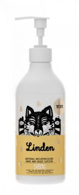 Yope Natural Hand & Body Linden 500ml - Regeneračné telové mlieko