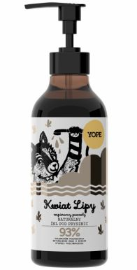 Yope Natural Shower Gel Linden 400ml - Sprchový gel Kvet lipy