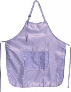 Zástera strihacia, lesklý nylon - fialová